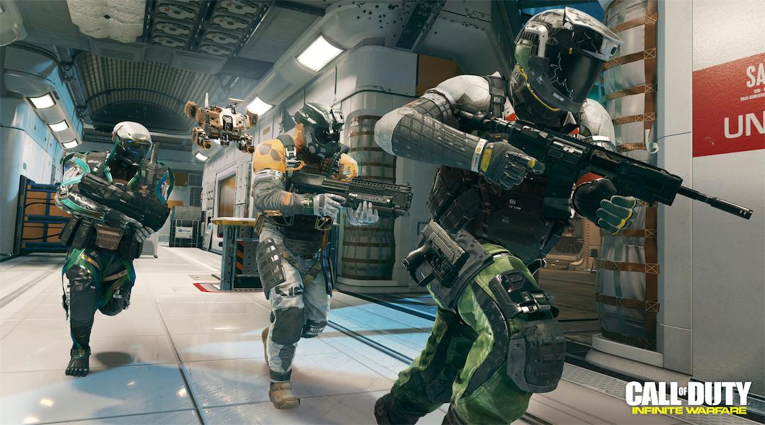 Infinite Warfare Steam Player Numbers are Lower Than Rainbow Six Siege