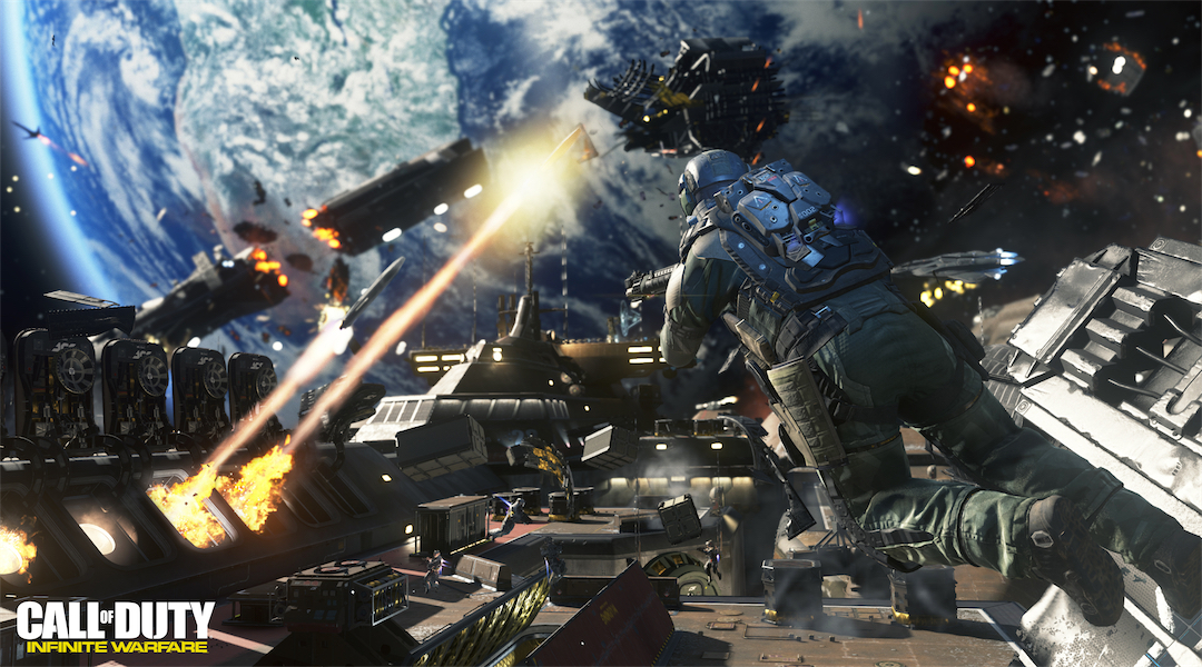 Call of Duty: Infinite Warfare Releases Live-Action Trailer with Michael Phelps, Danny McBride