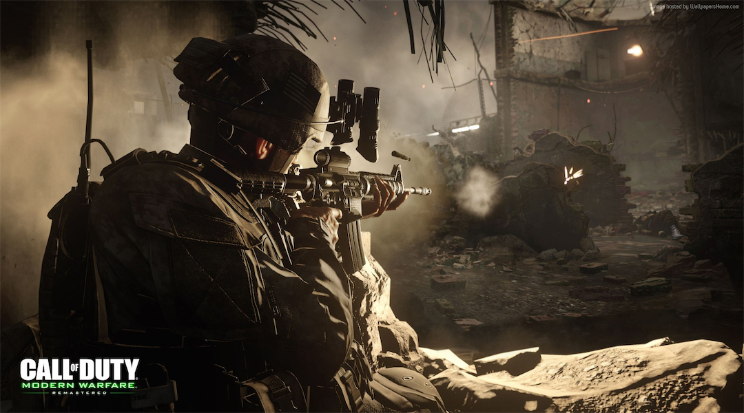 Watch 12 Minutes of Modern Warfare Remastered's Campaign