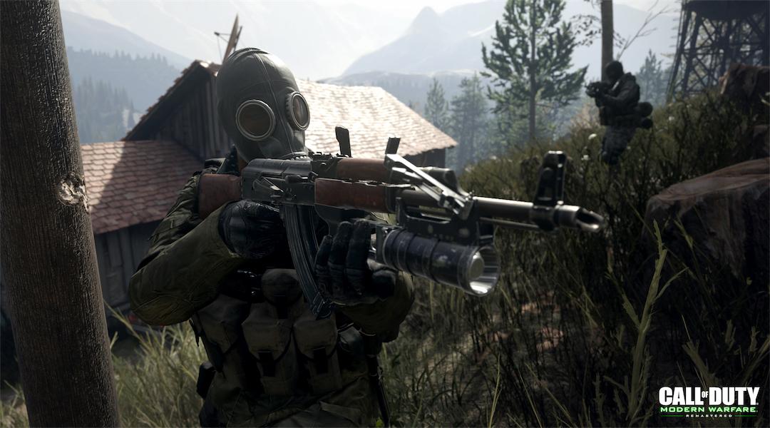 Call of Duty: Modern Warfare Remastered Releases New Screenshots