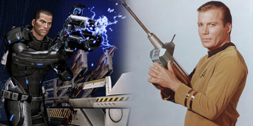 Captain Kirk vs. Commander Shepard