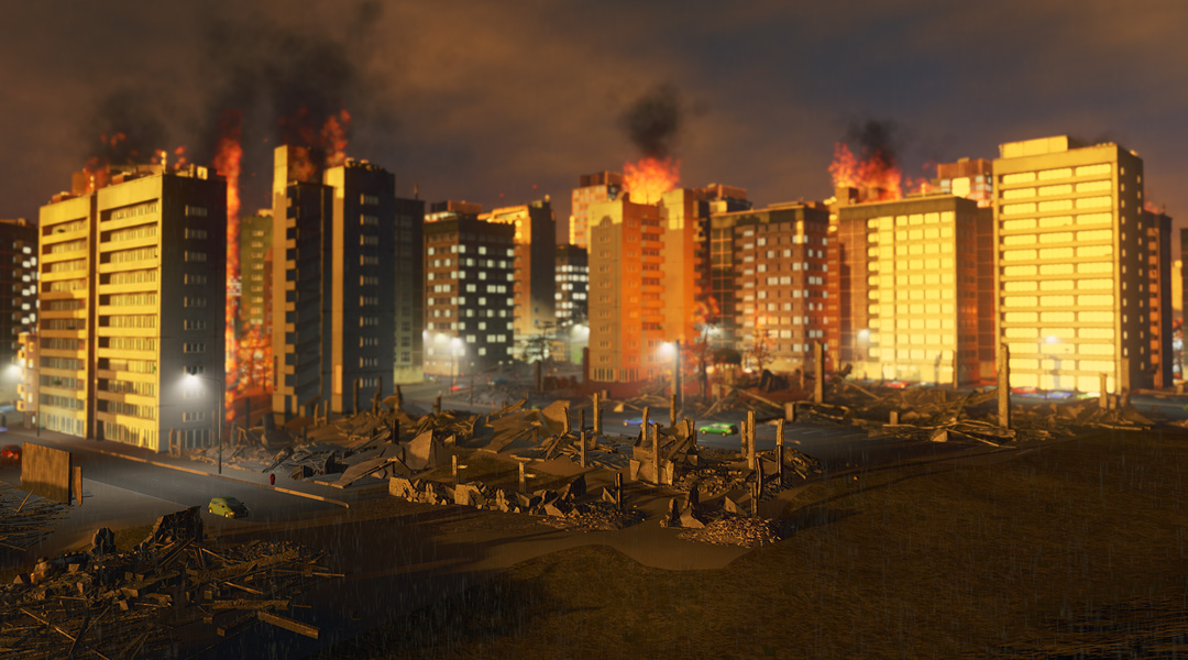Cities: Skylines Adds Natural Disasters Expansion