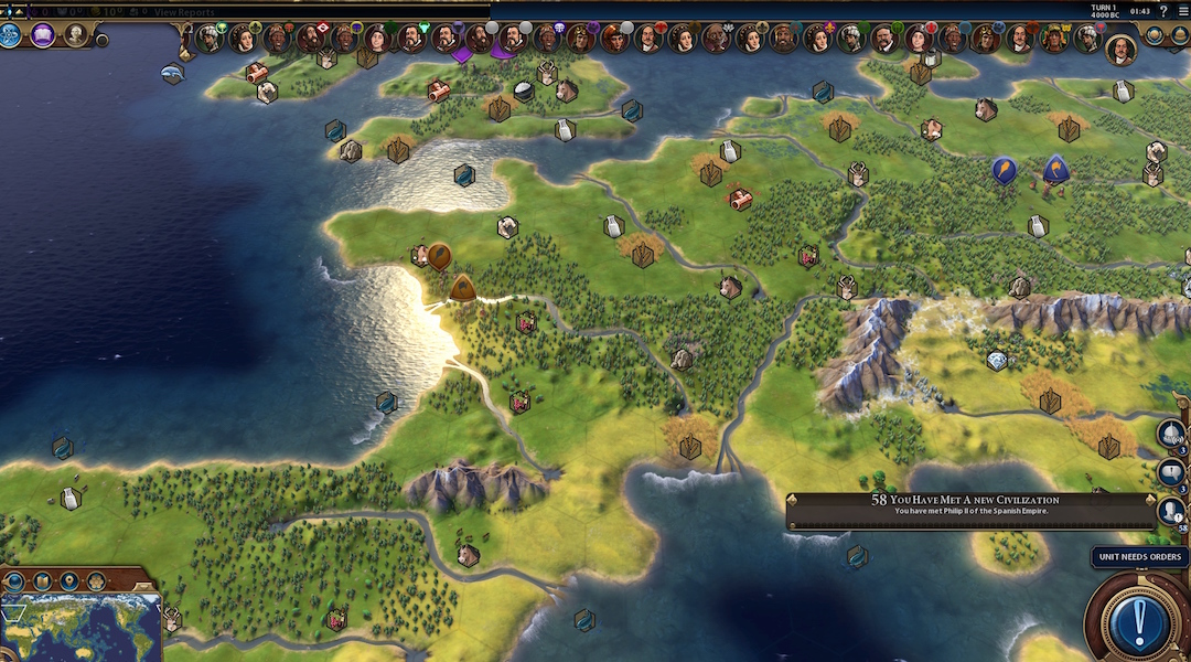Civilization 6 Modder Creates Earth Map, But There's a Catch