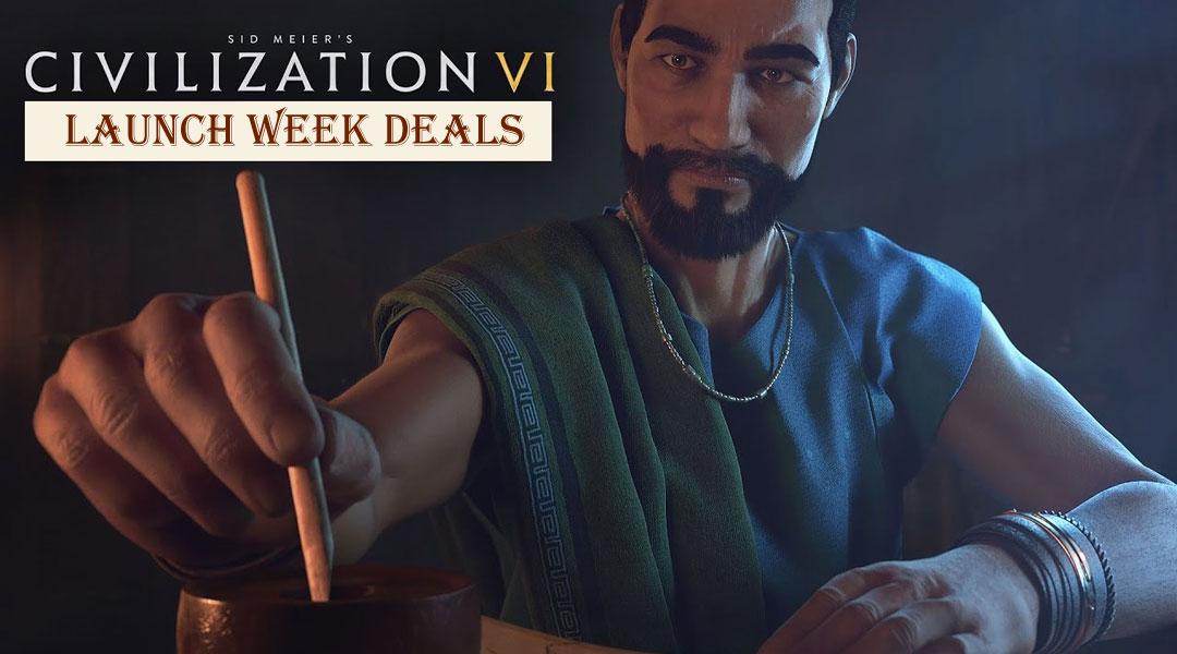 The Best Civilization 6 Deluxe & Standard Edition Deals