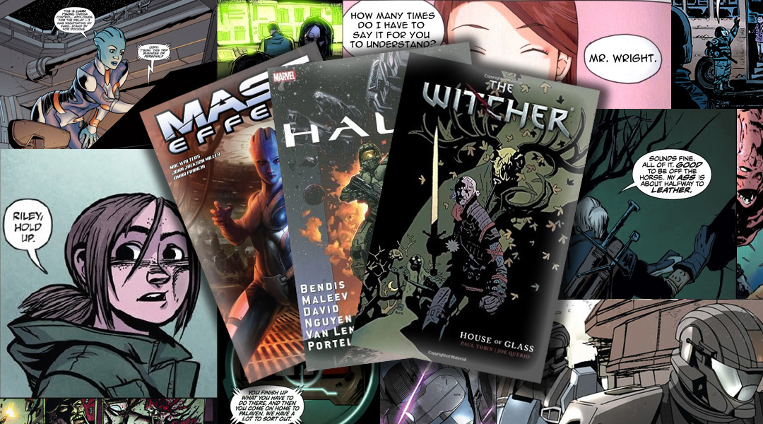 The Best Comic Books Based On Video Games
