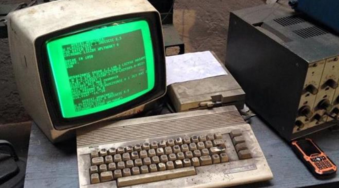 This 25 Year Old Commodore 64 is Still Used to Run an Auto Shop