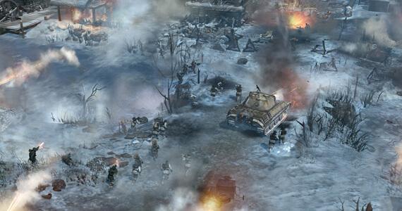Company of Heroes 2 Combat