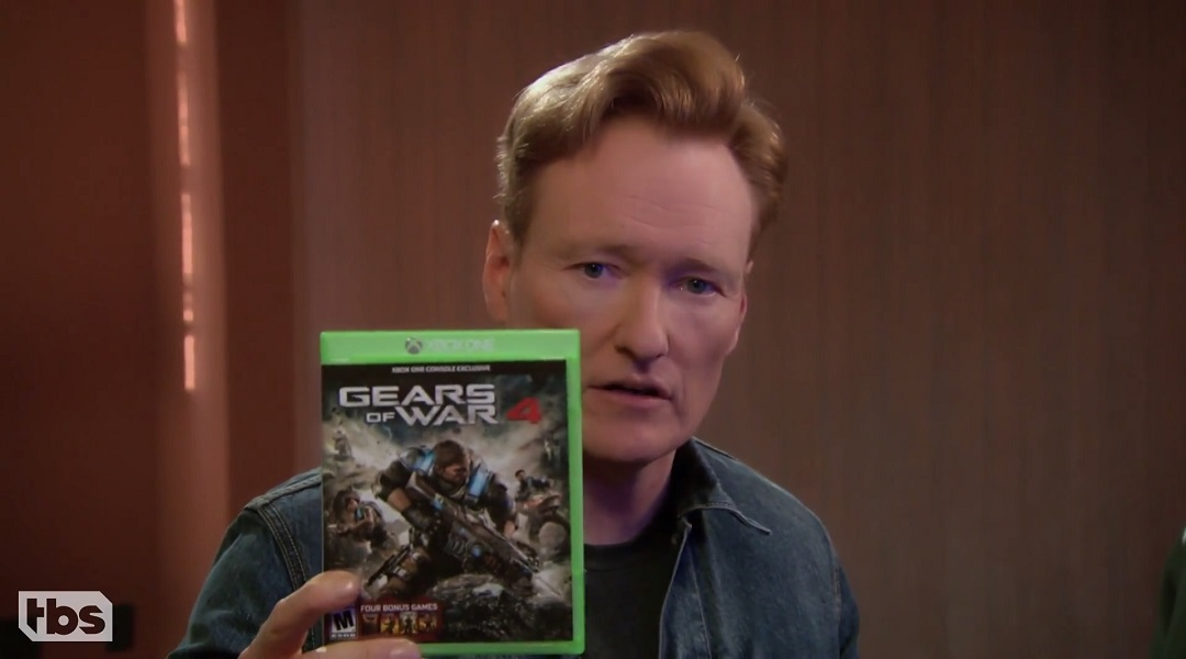 GR Pick: Conan Plays Gears of War 4 With Wiz Khalifa