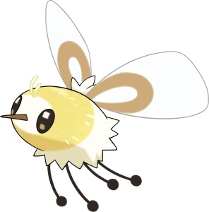 Pokemon Sun and Moon: All the New Pokemon - Cutiefly