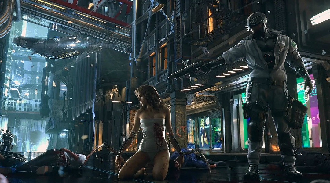 Cyberpunk 2077 May Include Seamless Multiplayer, 'Living' City