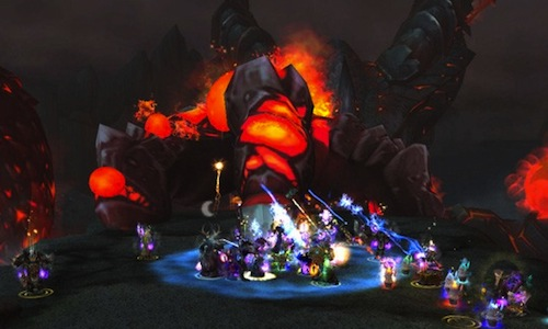 World of Warcraft: death wing's fall