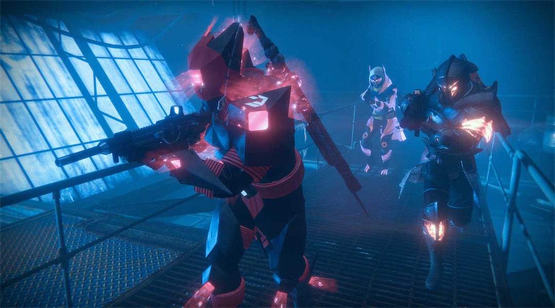 3-Man Destiny Team Beats Wrath of the Machine Without Using Guns