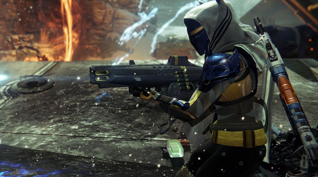 Destiny: Rise of Iron Nemesis Star Exotic Machine Gun Gameplay