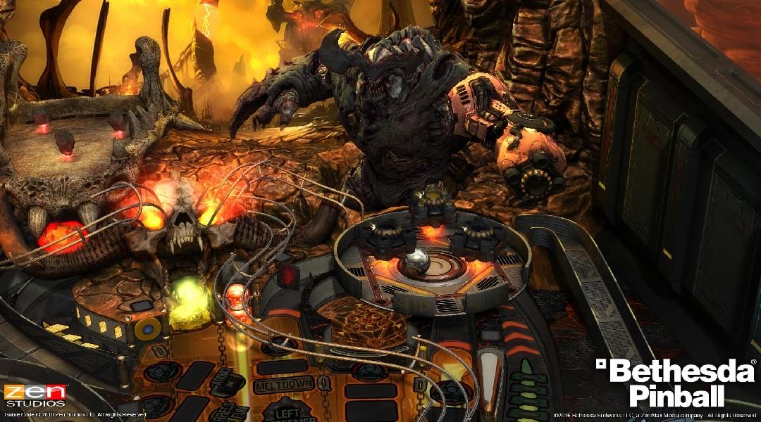 Skyrim, Fallout and DOOM Pinball Coming from Zen Studios