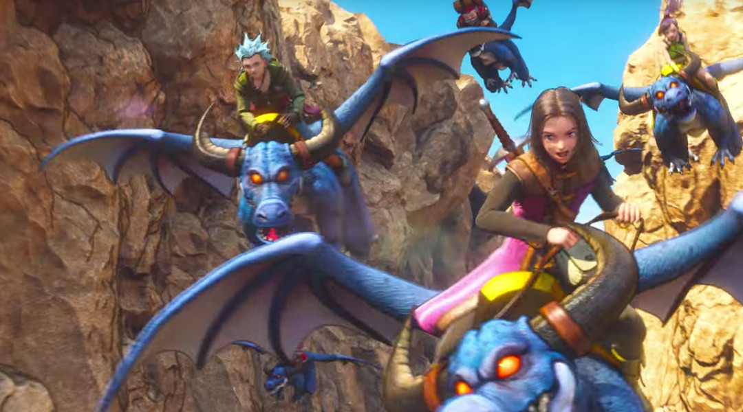 Dragon Quest 11 Trailer Shows Dragon Riding Gameplay