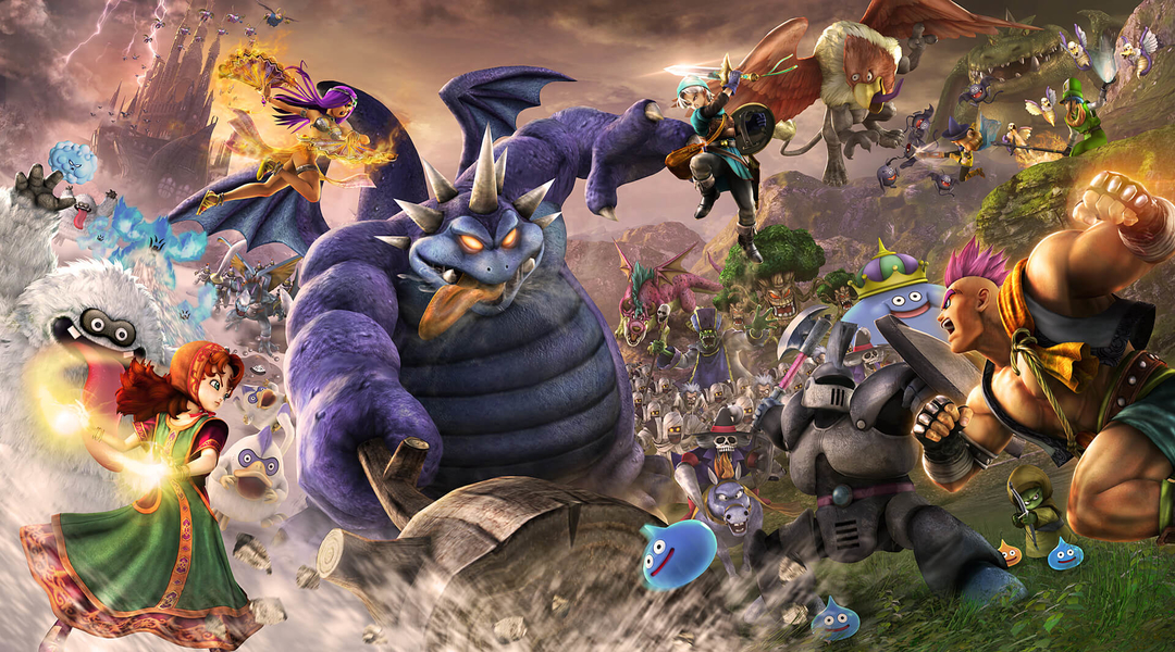 Dragon Quest Heroes 2 Confirmed for PC, New Trailer Released