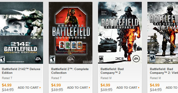 EA Origin Summer Sale