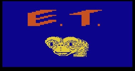 ET Atari 2600 Screenshot