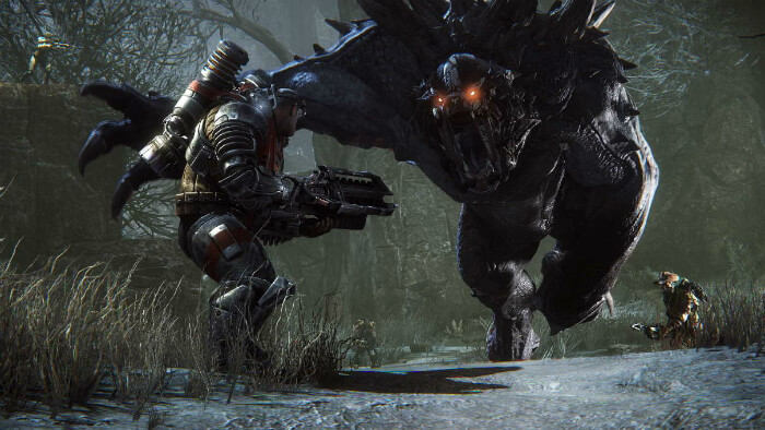 evolve monster gameplay