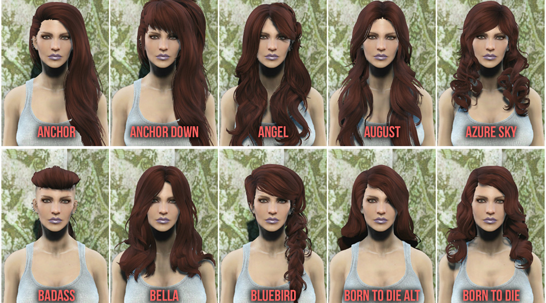 Hairstyles Xbox Marketplace : The Best Mods for Fallout 4 on Xbox One