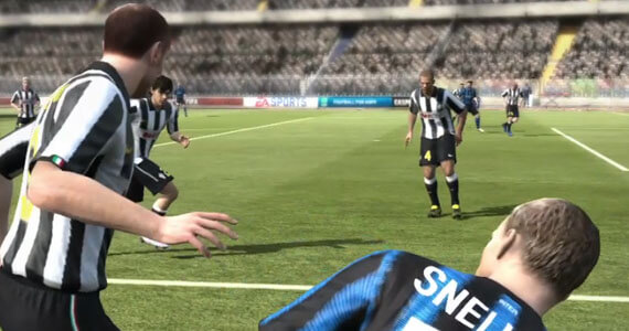 FIFA 12 E3 Gameplay Trailer Details New Features
