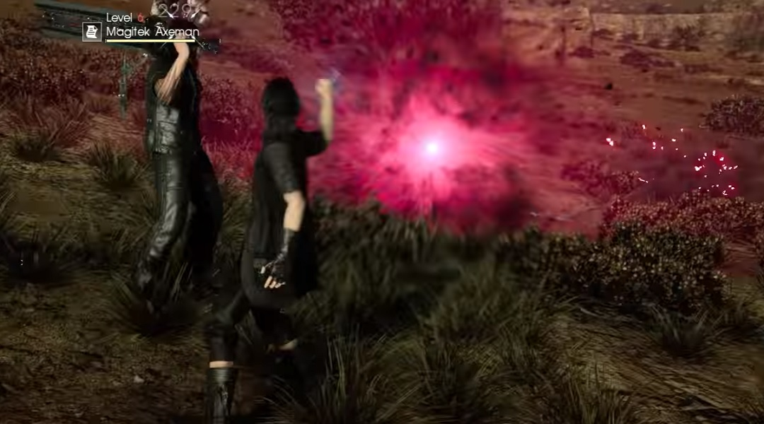 Watch Final Fantasy 15's Death Spell in Action