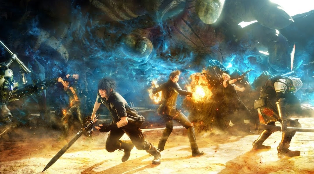 Final Fantasy 15 File Size Revealed for PS4, Xbox One