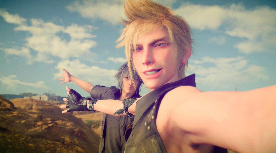 Final Fantasy 15 Prompto