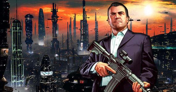 Futuristic Grand Theft Auto