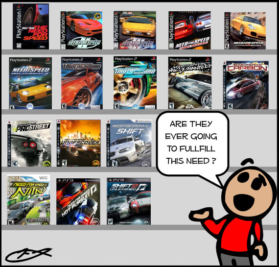 Game Rant Webcomic Issue 027 Need for Speed