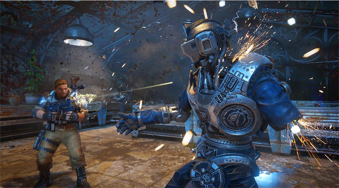 Gears of War 4 Video Analyzes Xbox One vs PC