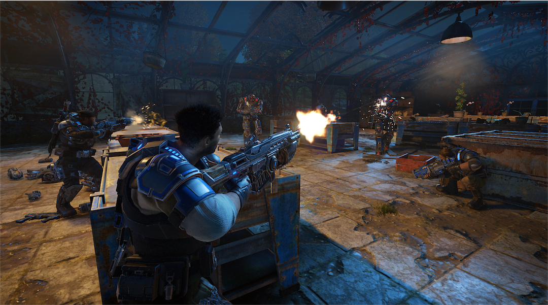Gears of War 4 Update Fixes Some Multiplayer Problems