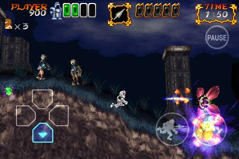 Ghosts n Goblins Gold Knights 2