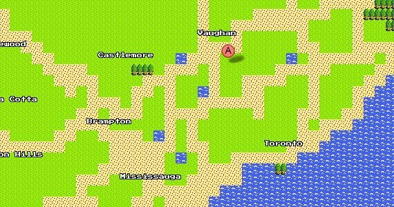 8-Bit 'Google Maps' Comes to NES and Computer