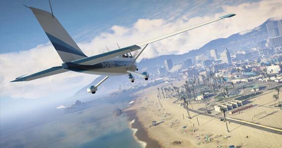 Grand Theft Auto 5 (PS3-PS4 Comparison)