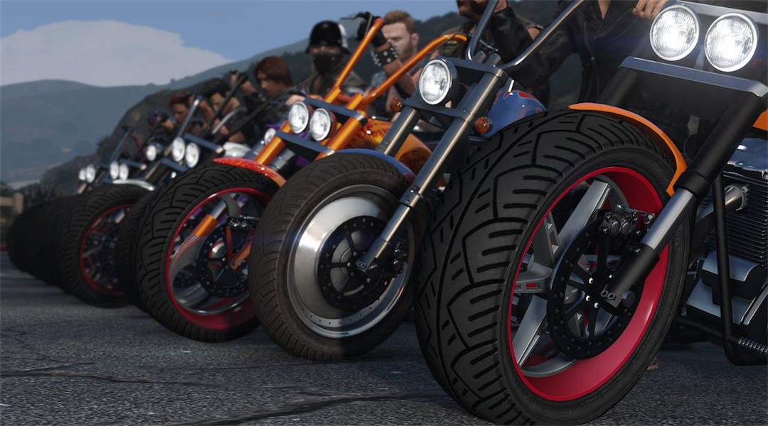 Grand Theft Auto Online Getting Bikers Update