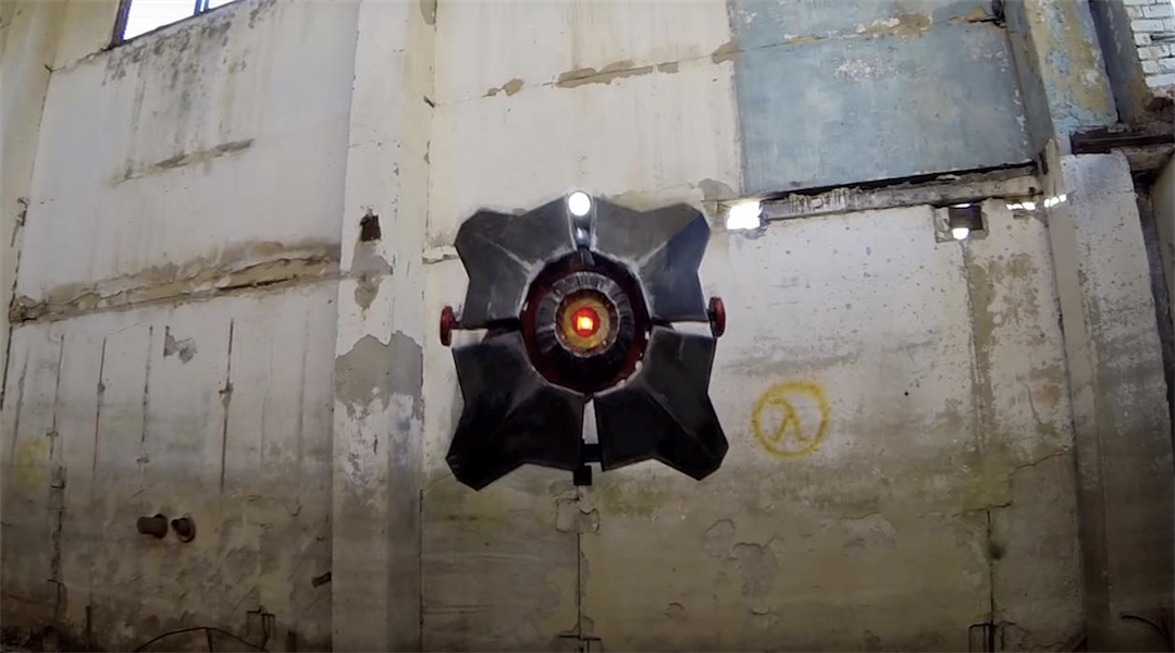 Half-Life Drone Mod Creates Real Life City 17 Scanner