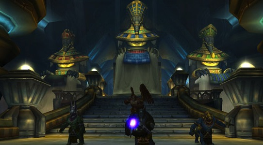 Rolling a priest in World of Warcraft