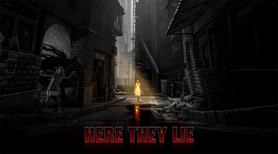 Psychological Horror Game Here They Lie Is a PS VR Launch Title