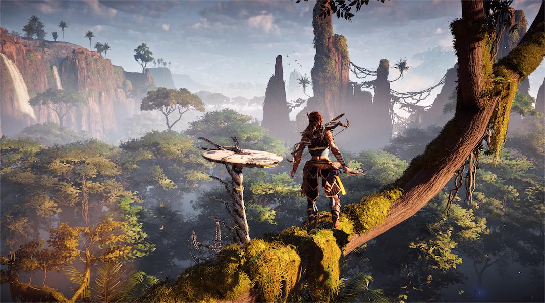Horizon: Zero Dawn Gameplay Highlights Settlements