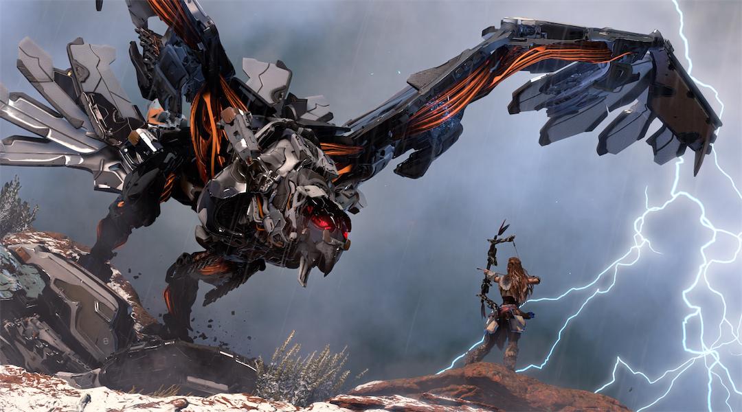 Horizon: Zero Dawn's Stormbird and Behemoth Trailers