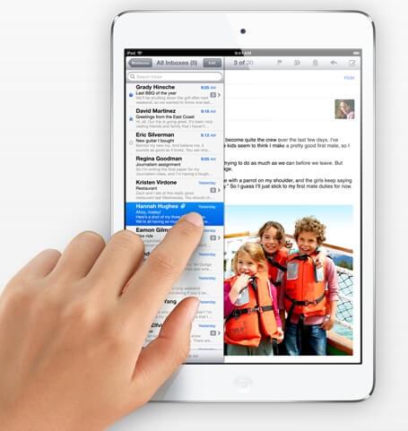 iPad Mini Touchscreen
