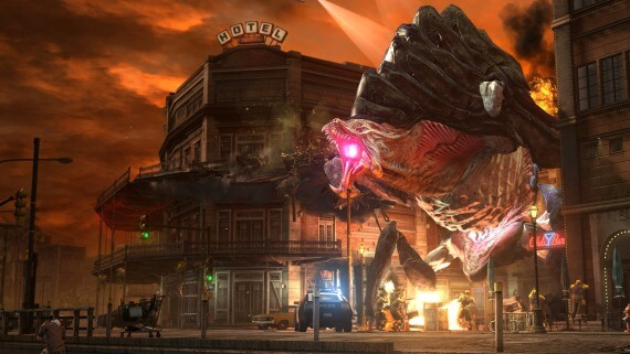 inFamous 2 Behemoth Trailer Screenshots