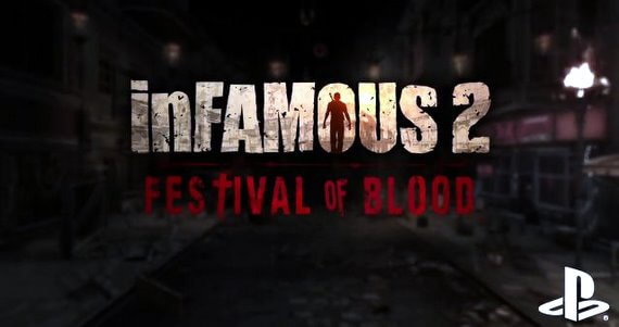 'inFamous 2' PlayStation Move Support with 'Festival of Blood' DLC