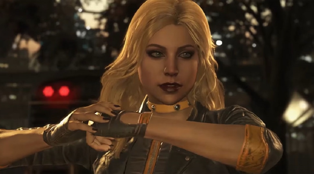 Injustice 2 Gameplay Trailer Highlights Black Canary