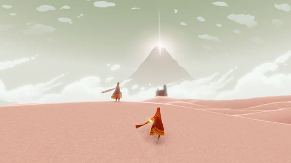 Journey E3 2011 Preview Hands-On Impressions thatgamecompany