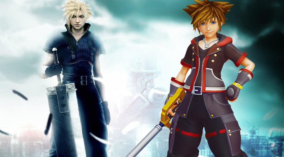 New Kingdom Hearts 3 Screen Pays Homage to Final Fantasy 7
