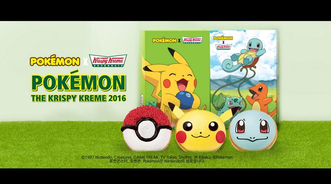 South Korean Krispy Kreme Introduces Pokemon Doughnuts