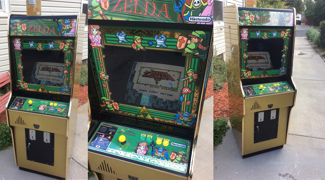 GR Pick: Fan Builds Incredible Zelda Arcade Cabinet