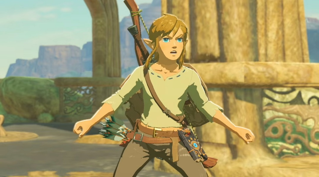 Link Won't Speak in Legend of Zelda: Breath of the Wild?